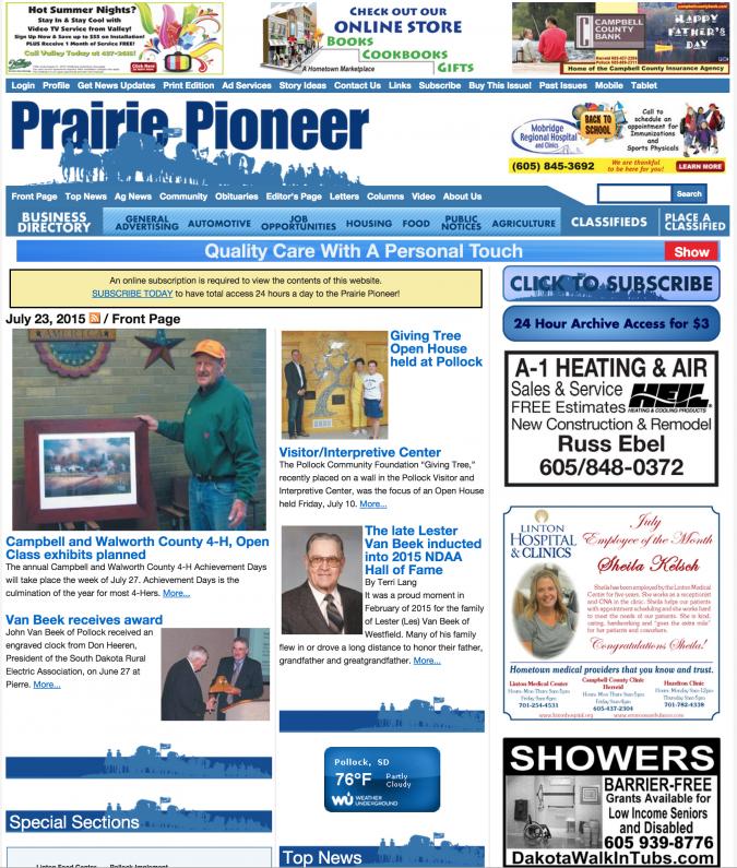 Prairie Pioneer