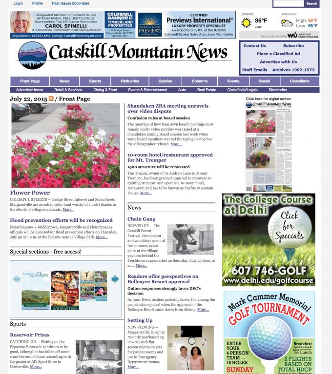 Catskill Mountain News