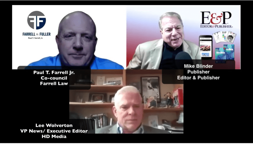 Newspapers Vs. Google – Mike Blinder's exclusive interview with HD Media on their suit against the tech giant.