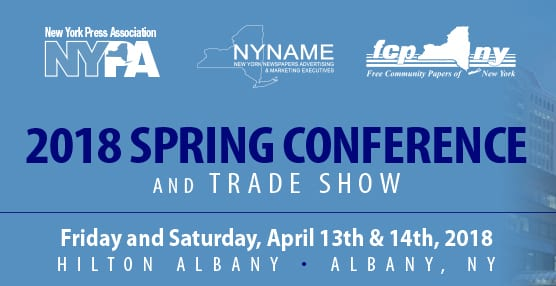 Join Our Hometown at the New York Press Association's 2018 Spring Conference & Tradeshow