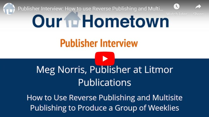 Publisher Interview:  How to Reverse Publish Four Weeklies from WordPress to InDesign