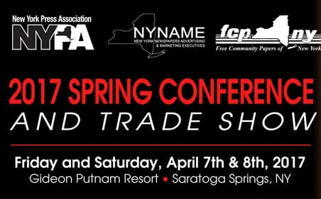 Our Hometown to Attend the 2017 New York Press Association Spring Conference & Trade Show in Saratoga Springs, NY