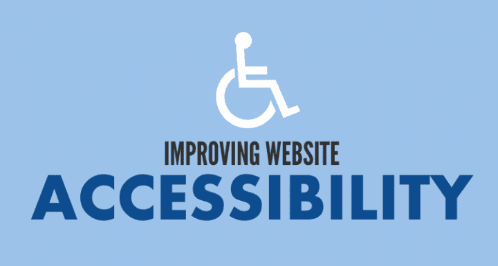 Improving Website Accessibility