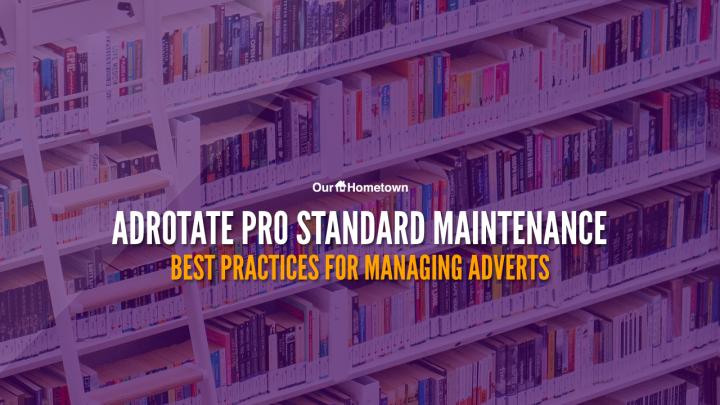 AdRotate Pro Standard Maintenance