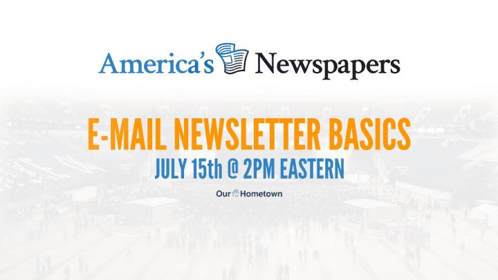 Email Newsletter Basics - Webinar Replay