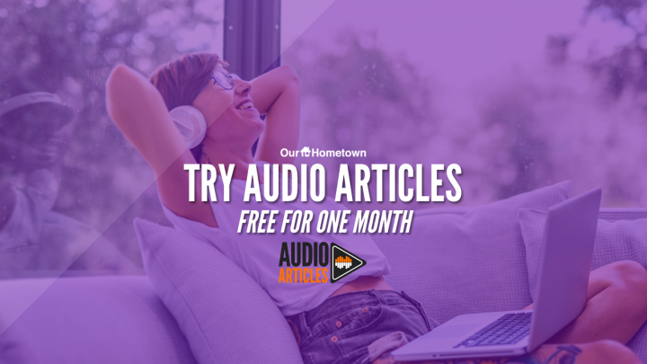 Try your first month FREE with Audio Articles this month!