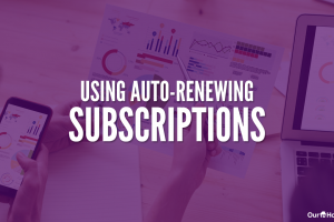 Using Auto-Renewing Subscriptions