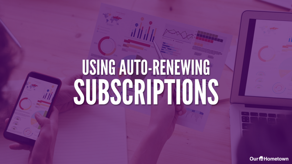 Auto-Renewing Subscriptions with Stripe