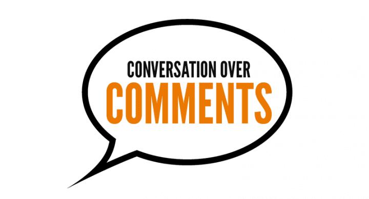 Conversation over Comments