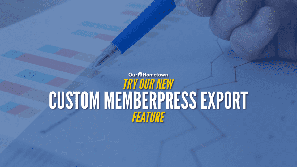 Introducing our new Custom Memberpress Export tool