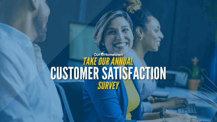 Take our 2020 Customer Satisfaction Survey
