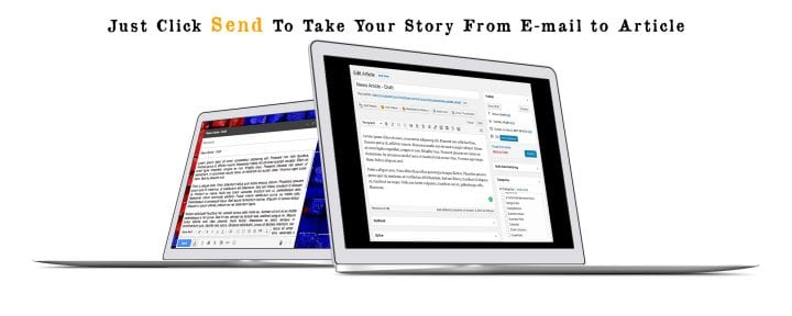 How to Email Articles Directly into your Publication's CMS