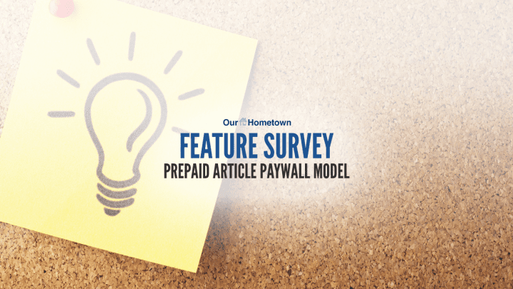 Feature Survey: Prepaid Article Paywall Model