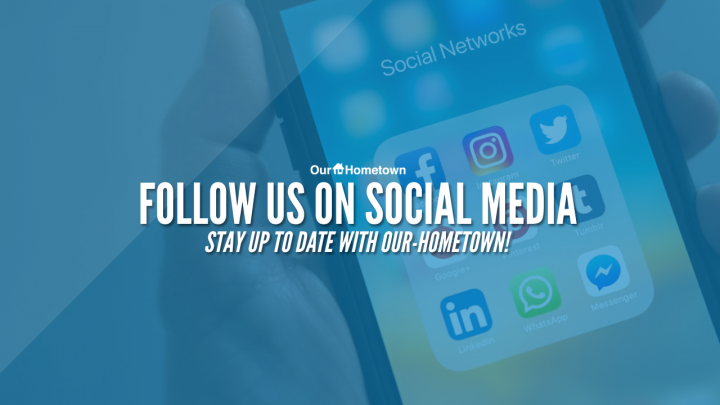 Follow Our-Hometown on social media!