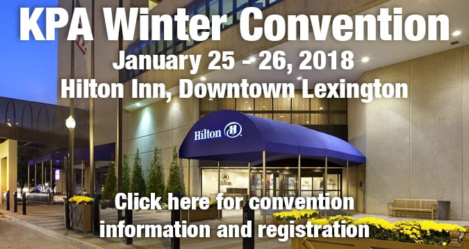 Join Our Hometown at the 2018 Kentucky Press Association's Winter Conference