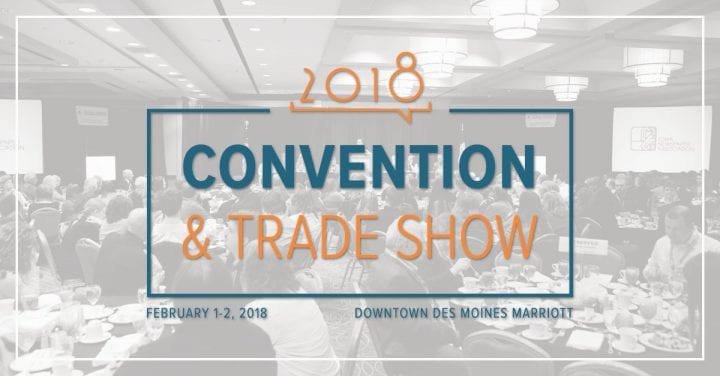 Don't Miss Our Hometown at the Iowa Newspaper Association's 2018 Conference & Tradeshow