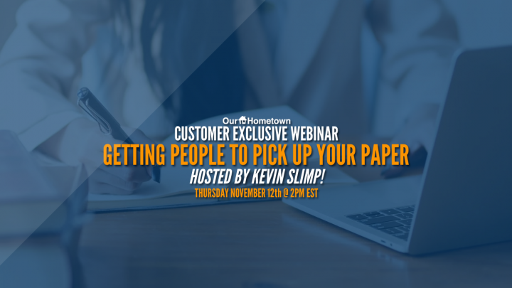 Getting People to Pick Up Your Paper with Kevin Slimp!