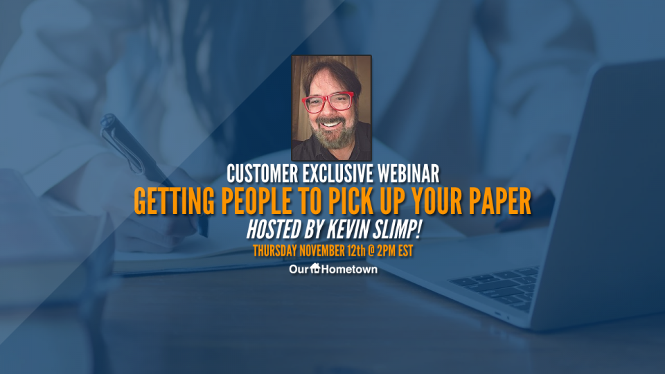 """Getting People to Pick Up Your Paper"" with Kevin Slimp – Webinar Recap"
