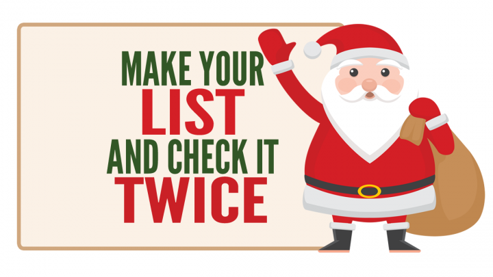 Make Your List & Check It Twice: Get the Most of Our Hometown's Features & Services!