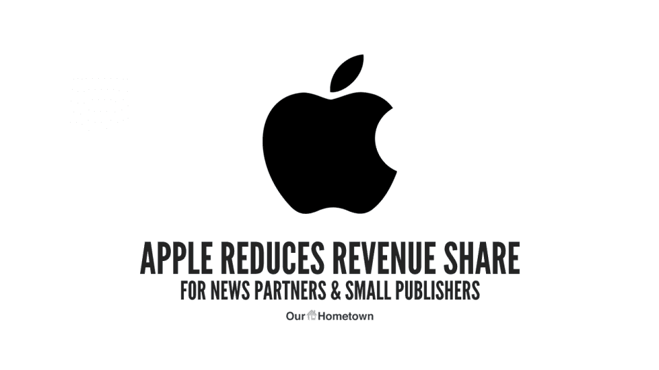 News Brief – Apple Reduces Their Revenue Share With News Partners