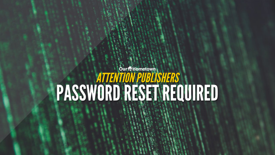 Attention: Password Reset Required!