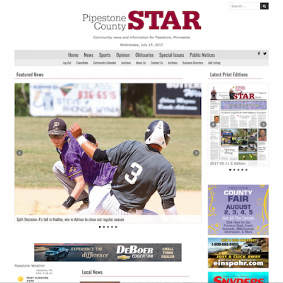 Pipestone County Star