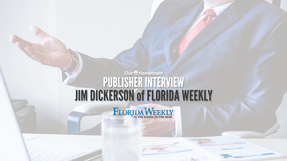 Publish Interview with Jim Dickerson of Florida Weekly