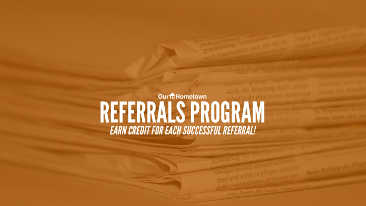 Introducing our NEW Referral Program
