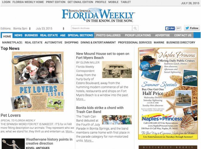 Bonita Springs Florida Weekly