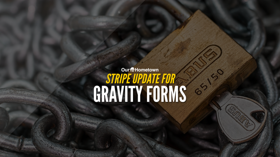 Stripe Update for Gravity Forms