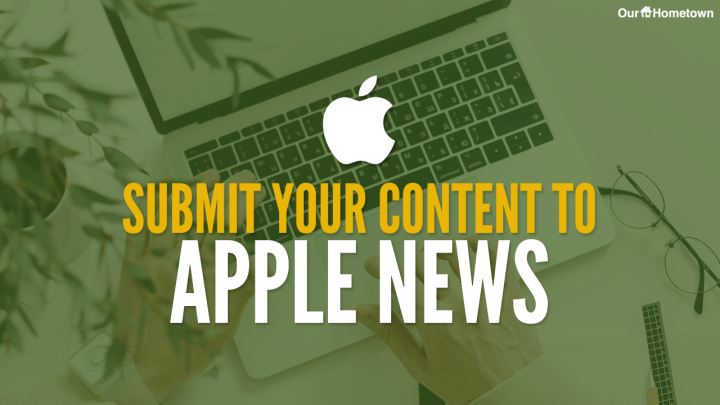 Submit your news to Apple News