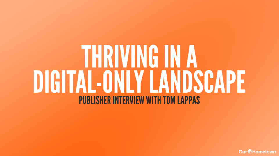 Thriving in a Digital-only Landscape: Publisher Interview with Tom Lappas