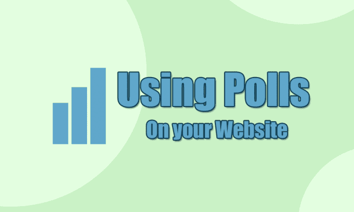 Using Polls on your Website