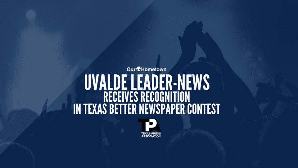 Uvalde Leader-News receives recognition for website
