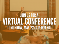 Feeling isolated from fellow publishers? Join us for a Virtual Conference tomorrow!