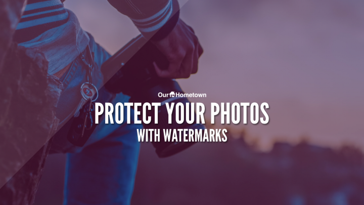 Add a Watermark to protect your photos and images!