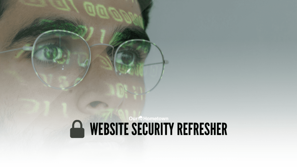 Website Security Refresher